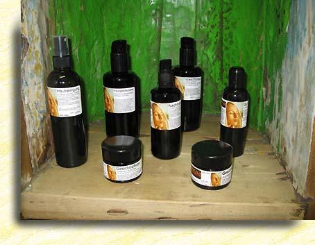 Das Olivenöl und die Pigmentflecke